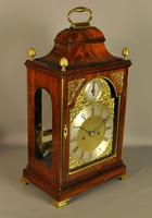 Mahogany Verge Repeating Fusee Bracket Clock (3 of 12)