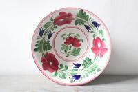 Late 19th Century Scottish Spongeware Pottery Bowl Persian Rose Pattern (8 of 23)