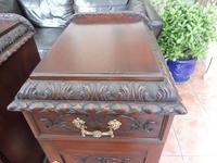 Rare Pair of Mahogany Adams Style Pot Cupboards 1820 (2 of 10)