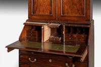 Late 18th Century Mahogany Bureau Bookcase (5 of 5)