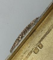Art Deco Silver Pill Box Rose Gold Clasp by Menton 1937 (8 of 8)