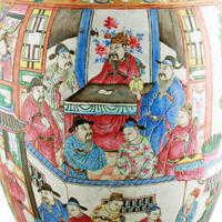 19th Century Chinese Canton Vase (5 of 8)