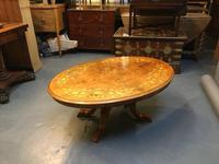 Victorian Walnut Coffee Table (5 of 7)