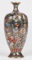 Oriental, Chinese / Japanese Exceptional Silver Metal Cloisonne Vase (24 of 25)