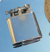 Rare Stunning Art Deco Alfred Dunhill Lift Arm Lighter & Pouch c.1920 (10 of 12)