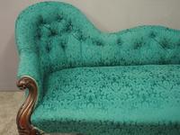 Victorian Mahogany Double Ended Sofa (4 of 9)