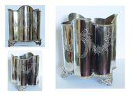 Edwardian Silver Plated Wine / Champagne Bucket (6 of 6)
