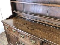 Antique 19th Century Oak Kitchen Dresser (4 of 9)