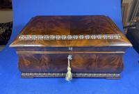 William IV Flame Mahogany Jewellery Box (3 of 20)