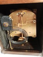 Burr Walnut Mantel Clock. Elliottt of London (5 of 7)