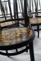 Decorated Bentwood Chairs (5 of 6)