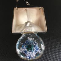 Lapponia Sterling Silver & Acrylic Pendant / Necklace by Bjorn Weckstrom (4 of 4)