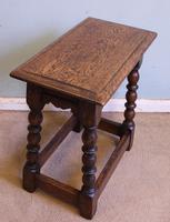 Antique Oak Stool Joint Stool (3 of 5)