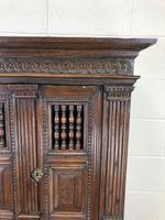 19th Century Oak Cupboard on Stand (6 of 10)