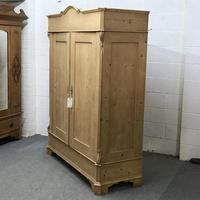 Large Old Pine Arched Wardrobe - Dismantles (4 of 5)