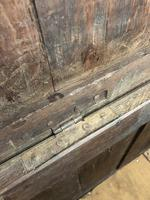Antique 18th Century Oak Coffer with Three Panel Front (16 of 19)