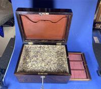Victorian Rosewood Jewellery Box (2 of 17)
