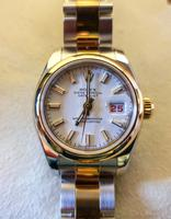 Ladies Rolex Datejust Watch with Automatic Movement (4 of 7)