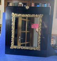Georgian Papier-mâché  Gilt Brass Mounted Mirror (5 of 5)