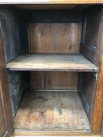 Antique Panelled Oak Dresser Base (4 of 10)