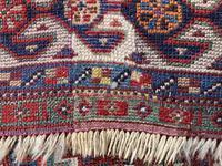 Antique Qashqai Rug 1.47m x 1.04m (13 of 17)