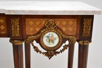 Antique French Marble Top Console Table (11 of 11)