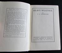 1933 1st Edition - Heavy Weather by P G Wodehouse (2 of 3)