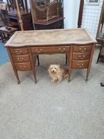 Edwardian Leather Top Desk (3 of 7)