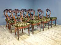 12 Walnut Irish Dining Chairs (4 of 7)