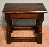 Charles II Style Oak Joint Stools (6 of 7)