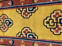 Antique Chinese Ningxia Rug (4 of 10)