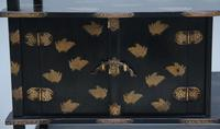 19th Century Japanese Lacquered Cabinet (11 of 12)