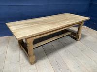 Good Looking Bleached Oak Farmhouse Dining Table (4 of 17)