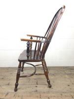 Antique Ash & Elm Windsor Armchair (8 of 11)