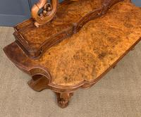 Victorian Period Burr Walnut Duchess Dressing Table (11 of 18)