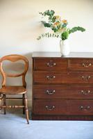 Antique Straight Front Chest of Drawers (2 of 12)