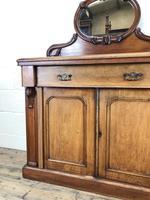 Victorian Mahogany Mirror Back Chiffonier Sideboard (10 of 13)