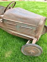 Vintage Eureka Bugatti Pedal Car Original 1930's (8 of 12)
