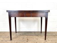 19th Century Mahogany Fold Over Tea Table (12 of 12)