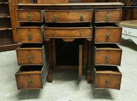 Antique Serpentine Front Walnut Desk (10 of 10)