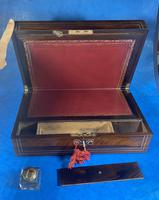 William IV Rosewood & Mother of Pearl Writing Slope (14 of 14)