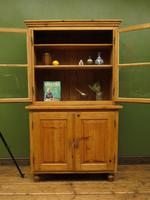 Antique Pine Kitchen Dressser with Glazed Top, Country Dresse. modestly sized (14 of 19)