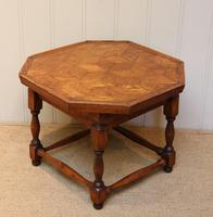 Small Oak Parquetry Top Table (9 of 10)