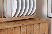 Antique Pine Freestanding Plate Rack (7 of 20)