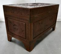 Carved Oriental Camphor Wood Chest (8 of 8)