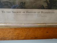 Early 19th Century Engraving Golf at Blackheath (5 of 9)