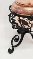 Art Nouveau  Wrought Iron and Copper Planter, Jardinière (2 of 16)
