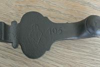 Original Aesthetic Movement Kenrick 405 Christopher Dresser Cast Iron Door Knocker c.1877 (3 of 10)