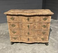 Early 19th Century Bleached Walnut Commode Chest of Drawers (3 of 13)