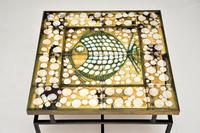 1960's Tiled Top Brass Coffee Table (12 of 18)